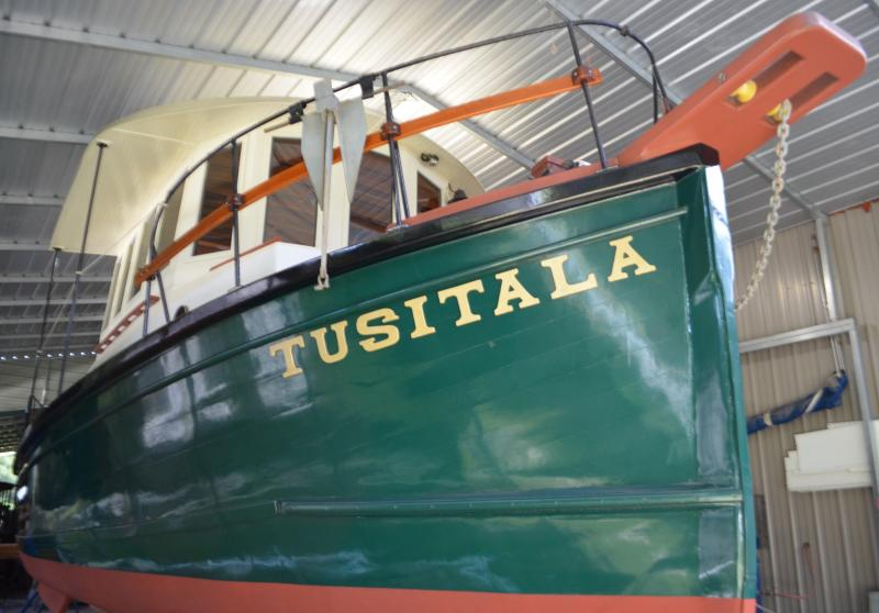 TUSITALA 1928/ 2019 at Joest Boats - Welaka, Florida - USA