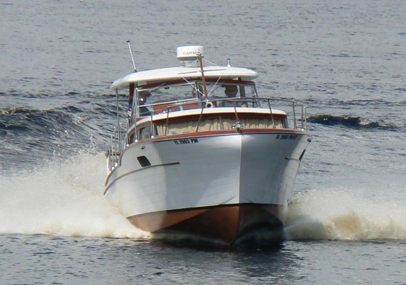 Joest Boats - Chris Craft Constellation project mar. 2015