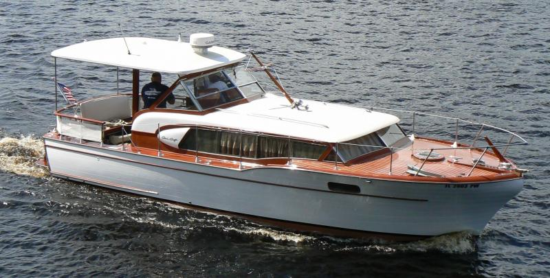 Chris Craft Constellation rebuild by Joest Boats 2015