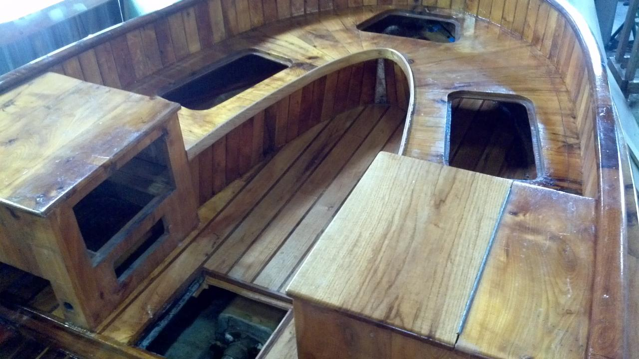 Joest boats wood boat repair for How to restore a boat interior